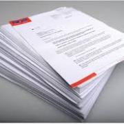 Stack of legal documents